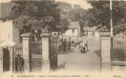REMIREMONT CASERNE D'ARTILLERIE AU FOND LE PARMONT - Remiremont
