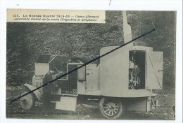 CPA- La Grande Guerre 1914-15- Canon Allemand Automobile Destiné Au Tir Contre Dirigeables Et Aéroplanes - Véhicules