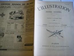 L'ILLUSTRATION 11 OCTOBRE 1902- FUNERAILLES D'EMILE ZOLA – MINEURS  LENS - SICILE - BUDAPEST - VIAUR - Giornali
