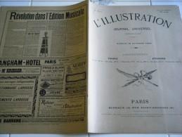 L'ILLUSTRATION 18 OCTOBRE 1902- TRAITE AVEC SIAM- CHANTABOUN- CATASTROPHE DU DIRIGEABLE DE BRADSKY-VALENCE-CERF VOLANT