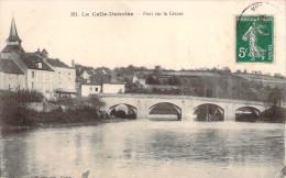 CPA La Celle-Dunoise Pont Sur La Creuse N839 - Sonstige Gemeinden