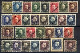 Austrian Fieldpost General Issue: Mint & Used Part-Set