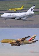 HK - AVIAÇÃO - Iran Air / Emirates Airlines - 1946-....: Modern Era