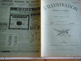 L'ILLUSTRATION 7 novembre  1903-MACEDOINE- THEODORE MOMMSEN- PRUDHOMMES- SOUS MARINS-PRINCE DE  ROUMANIE