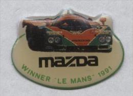 Pin´s Mazda Course Le Mans 1991 - Altri