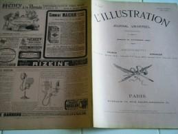 L'ILLUSTRATION 14 novembre  1903-TRAVAILLEURS MINES-FORCES JAPONAISES �JUBILE DU ROI DE DANEMARK-SAUVETAGE EQUIPAGE GUEY