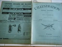 L'ILLUSTRATION 21 novembre  1903- DIRIGEABLE LEBAUDY - COREE - SOUVERAINS ITALIENS EN ANGLETERRE-ALENCON-CROQUI S COURSES