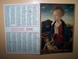 CALENDRIER 1991 PROCURE MISSIONNAIRE DE L´ASSOMPTION Religion - Calendarios