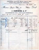 BULLE-SUISSE--26-10-1889-J. GRETENER - Schweiz