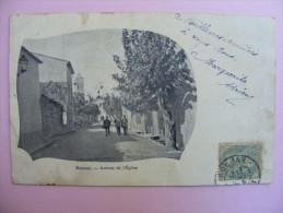 CPA Roujan (34) - Avenue De L'Eglise (Adrien Rolland : Propriétaire) - France
