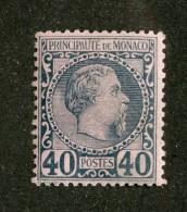 A-857  Monaco 1885   Scott #7*  Offers Welcome! - Monaco