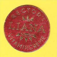 Old Labels, Promotional Labels Or Similar - Liana Rectors Vitamincreme - Altre Collezioni