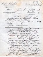 RIEBER & FILS & C.-BANQUIERS-BASILEA-4-9-1883 - Schweiz