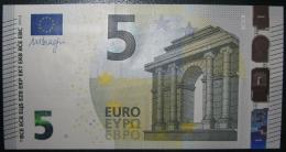 5 EURO V001F4 Spain Draghi Serie VA Perfect UNC - EURO