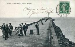 385 - AGDE - Le Grau, La Jetée (date 1911) - Agde