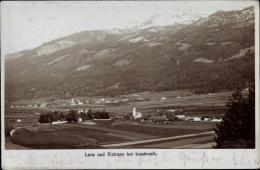 Foto Ak Lans Und Sistrans Tirol, Panorama Der Beiden Orte, Alpenkamm - Autriche
