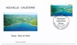 NOUVELLE CALEDONIE => 1 FDC => 2004 - Belep - Baie De Walla - FDC