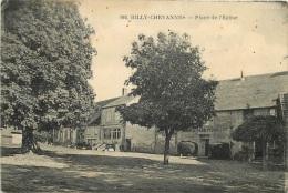 BILLY CHEVANNES PLACE DE L'EGLISE ET MAISON PERRUCHOT - Frankreich