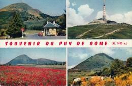 Thematiques 63 Puy De Dôme Souvenir Du Puy De Dôme Multivues Le Péage Tour RTF Vues Générales - France