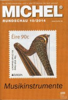 MICHEL Briefmarken Rundschau 10/2014 Neu 6€ New Stamps Of The World Catalogue And Magacine Of Germany - Other