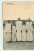 CONGO BELGE - Un Arabe Et Son Personnel (manyema). - Belgian Congo - Other