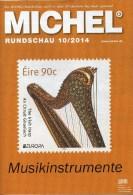 Briefmarken Rundschau MICHEL 10/2014 Neu 6€ New Stamp Of The World Catalogue And Magacine Of Germany ISBN4 194371 105009 - Livres & CDs