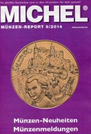 Briefmarken Rundschau MICHEL 9/2014 Neu 6€ New Stamps Of The World Catalogue And Magacine Of Germany ISBN4 194371 105009 - Allemand