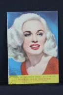Vintage 1962 Double Small Calendar - Cinema/ Actors Topic: Actress Mamie Van Doren - Spanish Advertising - Calendarios