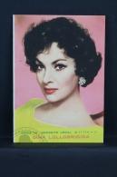 Vintage 1962 Double Small Calendar - Cinema/ Actors Topic: Actress Gina Lollobrigida - Spanish Advertising - Petit Format : 1961-70