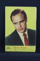 Vintage 1959 Small Calendar & Notebook - Cinema/ Actors Topic: Actor: Marlon Brando - Spanish Advertising - Calendarios