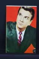 Vintage 1968 Small Calendar - Cinema/ Actors Topic: Actor: Leslie Nielsen - Tamaño Pequeño : 1961-70