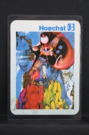 Small Calendar Art Topic - Salvador Dali 1962 Painting - Hoechst Iberica Advertising - Calendarios