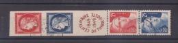 FRANCE / 1949 / Y&T N° 833A : Bande CITEX Non Pliée - Choisi - Cachet Rond - Usati