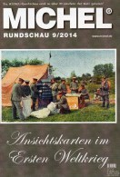 Briefmarken Rundschau MICHEL 9/2014 Neu 6€ New Stamps Of The World Catalogue And Magacine Of Germany ISBN4 194371 105009 - Paesi Bassi
