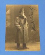 carte postale photos - photographie -  hommes au monocle & chapeaux  :: walery  photographe 9 bis rue de londre , paris