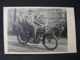 == Privat Foto ca. 1920  Motorrad  *