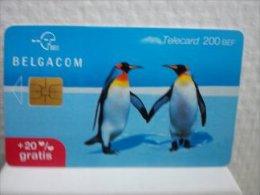 Chipcard Pinguin Belgium Used