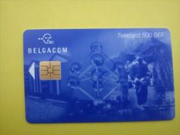 Phonecard Atomium 500 BEF FH 30.06.2001  (Mint,Neuve) Rare