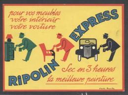 6361-RIPOLIN EXPRESS-1933 - Publicité