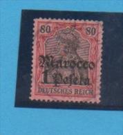 MAROC Allemand - Yvert N° 28 - Deutsche Post In Marokko
