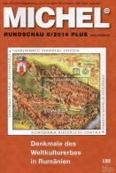 MICHEL Briefmarken Rundschau 8/2014 Plus Neu 6€ New Stamps World Catalogue And Magacine Of Germany ISBN 4 194371 105009 - Telefonkarten