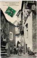 Lucéram - Vieille Rue - Porte De L'ancien Tribunal (Giletta) - Lucéram