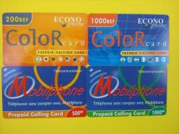 Econo Phone 4 Prepaidcards (Mint,Neuve)