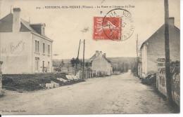 VOUNEUIL-SUR-VIENNE (Vienne) - La Poste Et L´Avenue Du Pont - Vouneuil Sur Vienne