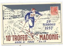 POSTAL 10º TROFEO DELLE MADONIE - 6. 1946-.. Repubblica
