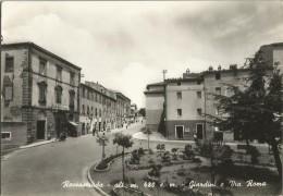 ROCCASTRADA (GROSSETO) GIARDINI E VIA ROMA -FG - Grosseto