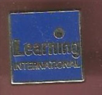 38692-Pin's. Learning's International - Marques
