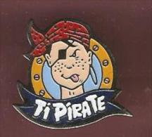 38697-Pin's.Tipirate. Jeux En Ligne Pour Enfants. - Marques