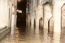 Vieille Photo Inondation De SOMMIERES Par Yves Mouret ( Original ) - Lieux