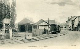 CPA-Dp 49-328 -TRAMWAY-FONTEVRAULT-ANIMER-VOYAGER- - Montrevault